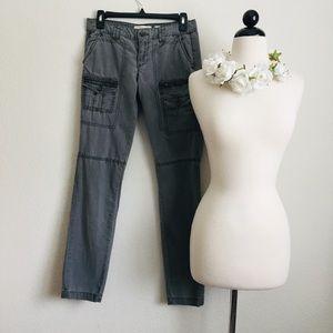 Anthropologie HEI Grey Cargo Pants